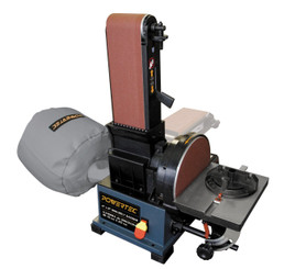 BD4800 Woodworking Belt Disc Sander w/ Built-In Dust Collection, 4 x 8-Inch