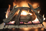 "Driftwood 30"" - Gas Logs Only (no burner included)"