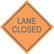 (C30) LANE CLOSED - 24X24 CB