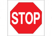 R1 STOP 24X24 CB