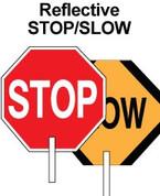 "18"" STOP/SLOW PADDLE - ALUMINUM - HIP"