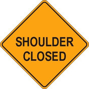 "(C30A) SHOULDER CLOSED - 48"" REFL"