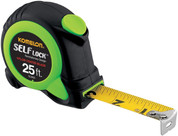 25' SELF-LOCK TAPE MEASURE (inch/engineer scale)