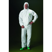 COVERALL ELASTIC W&A