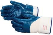 NITRILE COATED SAFETY CUFF GLOVE - (DOZEN)