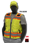 75-3235 YELLOW SURVEYOR VEST M - 4XL