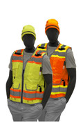 75-3236 ORANGE SURVEYOR VEST M - 4XL