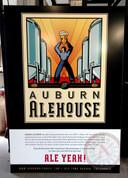 Auburn Alehouse Aluminum Sign
