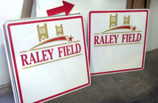 Raley Field Signs for West Sacramento