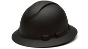 GRAPHITE FULL BRIM HARD HAT, 4-POINT SUSPENSION