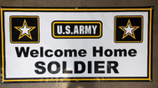 U.S. Army Banner - Welcome Home Soldier