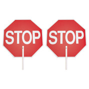 "STOP/ STOP PADDLE - 18"" PLASTIC"