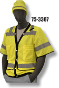 75-3307 YELLOW SURVEY VEST