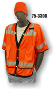 75-3308 ORANGE SURVEY VEST