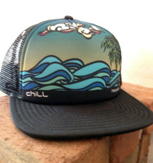 Chill Hawaii Flatbill Trucker Hat