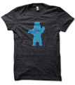 Chill Bear heather black t shirt