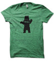Chill Bear Heather Green T Shirt