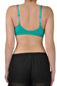 V neck Sports Bra back view
