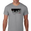 Montana Snow Ghosts T Shirt. Slate Grey