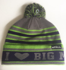 I Love Big Mtn Beanie