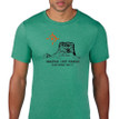Chief Mountain Ninaistako men's t shirt heather green