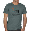 Chief Mountain Ninaistako men's t shirt heather dark green