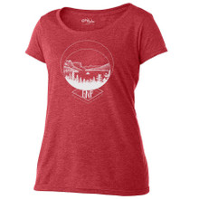 Wild Goose Island women's T Shirt red heather