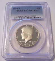 1978 S Kennedy Half Dollar Proof PR70 DCAM PCGS
