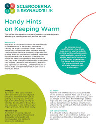 Handy Hints of Keeping Warm