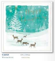 2017 Christmas Cards - Winter Scene (10pk)