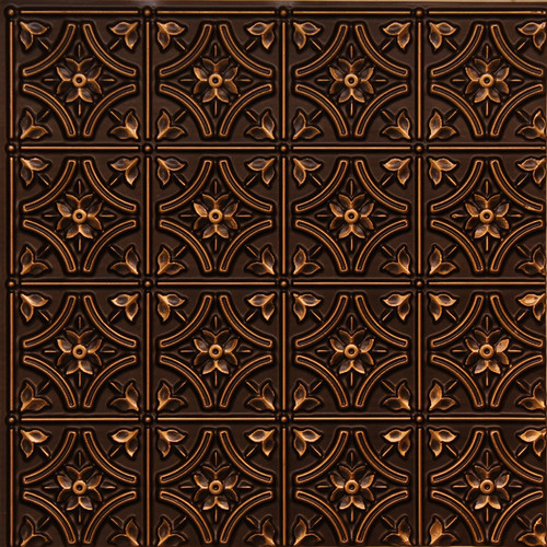 150 antique gold glue up decorative ceiling tile - Decorative Ceiling Tiles