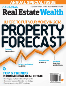 2016 Canadian Real Estate Wealth January issue (digital copy only)