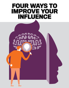 FOUR WAYS TO IMPROVE YOUR INFLUENCE (digital copy only)