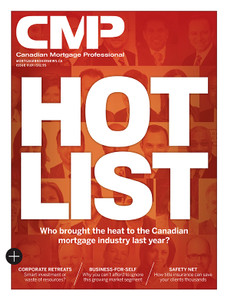 2016 Canadian Mortgage Professional January issue (available for immediate download)