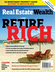 2016 Canadian Real Estate Wealth March issue (digital copy only)
