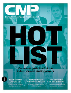 2017 Canadian Mortgage Professional January issue (available for immediate download)