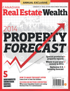 2014 Canadian Real Estate Wealth January issue (digital copy only)