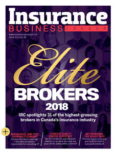 2018 Insurance Business 6.03 issue (available for immediate download)