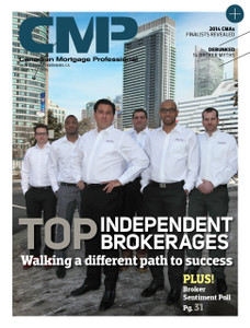 2014 Canadian Mortgage Professional March issue (digital copy only)