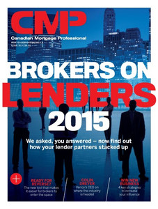 2015 Canadian Mortgage Professional September issue (digital copy only)