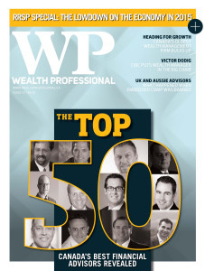 2015 Wealth Professional January issue (digital copy only)