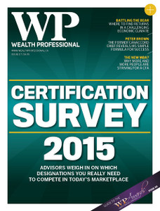 2015 Wealth Professional August issue (digital copy only)