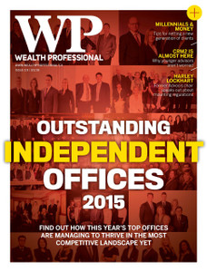 2015 Wealth Professional October issue (digital copy only)
