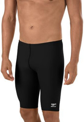 Speedo Endurance Jammer- Black with Team Logo- Garfield Sharks