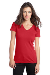 Red Women's Fit T Shirt with Team Logo- Madison Mariners