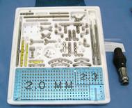 W Lorenz 01-9512 Titanium Osteosynthesis Set