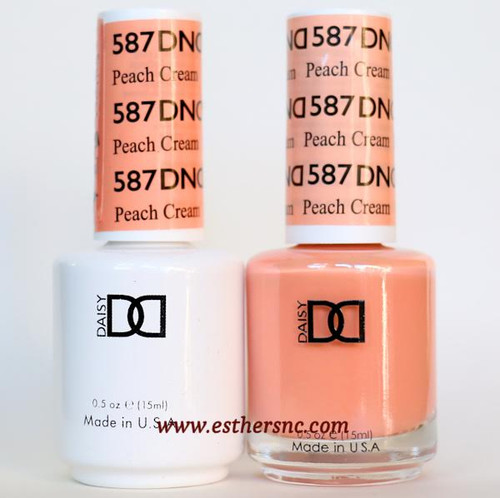 Daisy Gel Polish Peach Cream #587