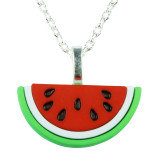 TROPICAL FRESH WATERMELON Necklace