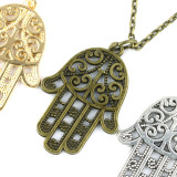 Funky Hamsa Hand Necklace's