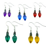 Funky Mini Christmas Light Earrings